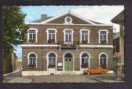 CPSM BELGIQUE - AUBEL - Maison Communale - TB PLAN EDIFICE Et Sa Façade + TB AUTOMOBILE Devant - Aubel