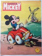 No PAYPAL !! : Walt Disney Le Journal De Mickey 167 Mme Tortue Et BéBé ,Donald Pêcheur Rosny Ainé Félin Géant..©.1955 Bd - Journal De Mickey