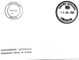 United Nations ; Gendarmerie Nationale - Militaria