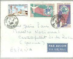 LETTER 1966 - Madagascar (1960-...)