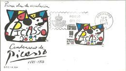 FDC ESPAÑA  1981 - Picasso