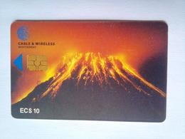 Volcano EC$10 Chip Card - Montserrat