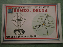 INTERNATIONAL DX FRANCE - ROMEO.DELTA - Radio