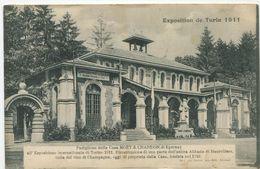 Champagne Pavillon Moët Et Chandon Exposition De Turin 1911 - Expositions