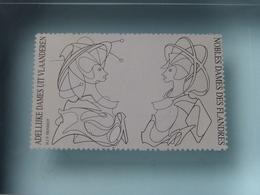 MAASMECHELEN VILLAGE 2001 - 66/600 Ex. - H.J.P HENRIOT ( Adellijke Dames Uit Vlaanderen / Nobles Dames Des Flandres ) ! - Presse-papiers