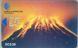 Volcano EC$20 Chip - Montserrat