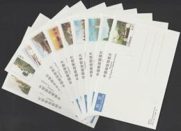 CHINA - 2000 Scenery Of Anhui Set Of Ten Postcards In Original Folder. Nice!! - 1949 - ... People's Republic