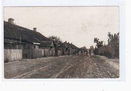 Telechany  1917 Feldpost OLD PHOTOPOSTCARD 2 Scans - Weißrussland