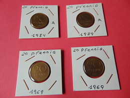 20 Pfennig Alemania Democratica - [ 6] 1949-1990 : GDR - German Dem. Rep.