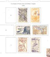 Bolivia PA 1938 Potosi E ..    Scott. C64+65+67+69+70+71+ See Scans On Scott.Page - Bolivia