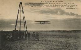 WILBUR WRIGHT AU CAMP D'AUVOURS EN 1908 - Piloten