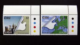 Irland 890/1 **/mnh, EUROPA/CEPT 1995, Frieden Und Freiheit - Neufs