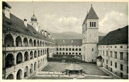 003389 Klosterhof Mit Kirche Benediktiner-Abtei Seckau - Seckau
