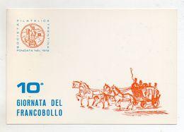 Italia - Trento - 1968 - Società Filatelica Trentina - 10^ Giornata Del Francobollo - Con Doppio Annullo - (FDC9162) - Manifestazioni