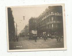 Photographie , 9 X 7 , Chemin De Fer , Tramways , Publicité - Eisenbahnen