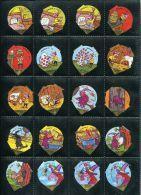 668 - Minimax Et Alixa II (BD) - Serie Complete De 20 Opercules Suisse - Opercules De Lait