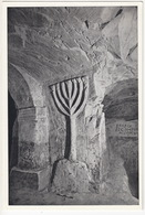 Beth She 'Arim - A Seven-Branched Candlestick Carved On Wall Of Tomb Chamber  - (Israël) - Israël