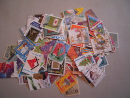 PAYS-BAS/NEDERLAND LOT DE 100 TIMBRES OBLITERES TOUS DIFFERENTS - Pays-Bas
