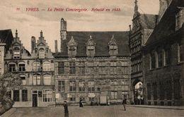BELGIQUE - YPRES LA PETITE CONCIERGERIE REBATIE EN 1633 - Unclassified