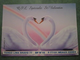 TANGO LIMA BRAVO 77 - QSL Spéciale St-Valentin - Radio