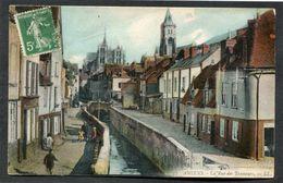 CPA - AMIENS - La Rue Des Tanneurs, Animé - Amiens