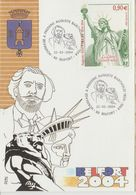 France Carte Maximum Année 2004 Statue De La Liberté-Bartholdi 3639 - Cartes-Maximum