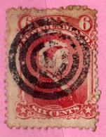 TERRE NEUVE - NEWFOUNDLAND - CANADA -  1868 - N° 30 Oblitéré - COLONIE BRITANNIQUE - 1865-1902