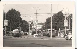 Photo - Tramway - Villeurbanne -  Cusset - Station Bus - - Trains