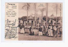 Paraguay Caacupe Las Promesa Asuncion  Ca 1910 OLD POSTCARD 2 Scans - Paraguay