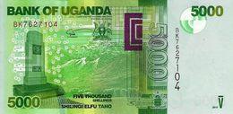 UGANDA 5000 SHILLINGS 2017 P-51e UNC  [UG156e] - Uganda