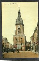CPA - AMIENS - Le Beffroi, Animé - Amiens