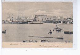 Paraguay Asuncion Depositos De Aduana Ca 1905 OLD POSTCARD 2 Scans - Paraguay