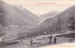 Cpa Larcat Près Les Cabanes - Vallée D'Aston, Au Fond Le Col D'Andorre - France