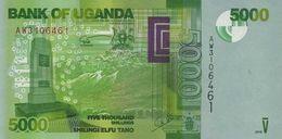 UGANDA 5000 SHILLINGS 2015 P-51d UNC  [UG156d] - Uganda