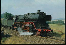 DB, Schnellzug - Dampflokomotive 001 008-2 - Eisenbahnen