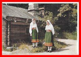 CPSM/gf STOCKHOLM (Suede)   Musée De Plein Air De Skansen. Femmes De La Province Dalarna ...C282 - Europe