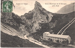 FR11 AXAT - Barbeau - Usine électrique De Saint Georges - Belle - Axat