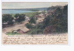 Paraguay Asuncio. Salinare. Rio Paraguay 1907 OLD POSTCARD 2 Scans - Paraguay