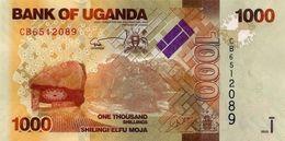 UGANDA 1000 SHILLINGS 2015 P-49d UNC  [UG154d] - Uganda