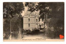 21597-LE-85-SOULLANS-Entrée Du Château Du Retail - Soullans