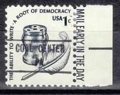 USA Precancel Vorausentwertung Preo, Locals Pennsylvania, Coal Center 853 - Vereinigte Staaten
