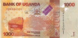 UGANDA 1000 SHILLINGS 2017 P-49e UNC [UG154e] - Uganda