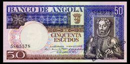ANGOLA 50 ESCUDOS 1973 Pick 105 Unc - Angola