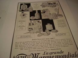 ANCIENNE PUBLICITE EAU DE COLOGNE 4711 JOUR HEUREUX 1928 - Autres