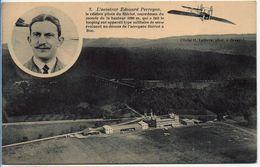 L'aviateur Edouard PERREYON (cachet ECOLE D'AVIATION MILITAIRE De BUC) - Buc