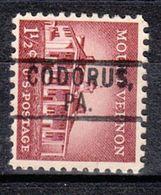 USA Precancel Vorausentwertung Preo, Locals Pennsylvania, Codorus 801 - Vereinigte Staaten