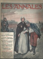 Journal LES ANNALES ,l'école Allemande , L'âme Italienne , Militaria , 9 Mai 2015 , Frais Fr : 2.50€ - Altri