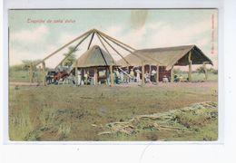Paraguay Trapiche De Cana Dulce Ca 1905 OLD POSTCARD 2 Scans - Paraguay