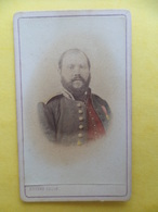 Photo Originale 1855 Albumine  COLORISÉE CDV -  - Photographe  DELON à TOULOUSE - Anciennes (Av. 1900)