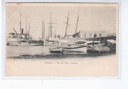 Paraguay Asuncion Vue Du Port 1908 OLD POSTCARD 2 Scans - Paraguay